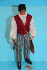 Vintage Big Jim action figure doll Mattel Wells Fargo Agent SEE!!