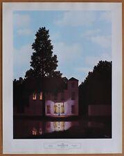 Rene Magritte The Empire of Lights Rare Vintage Original 1st Ltd Ed 1960 Litho