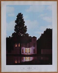 Rene Magritte The Empire of Lights - L'Empire des Lumières 1st Ltd Ed Lithograph