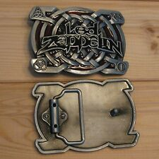 Led Zeppelin music belt buckle