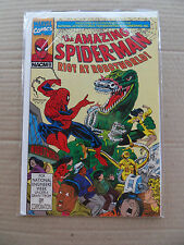 Amazing Spider-Man :Riot at Robotworld NACME Giveaway Promo .1991 . VF +