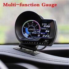 OBD2 Car Dash Multi-function Gauge Head-Up Digital Display Boost Data Scan Meter
