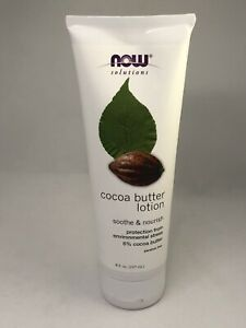 NOW Foods Cocoa Butter Lotion, 8 fl. oz. Brand new / Sealed