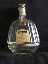 MARTELL CREATION COGNAC BOTTLE FRENCH CRYSTAL DECANTER  FRANCE RARE