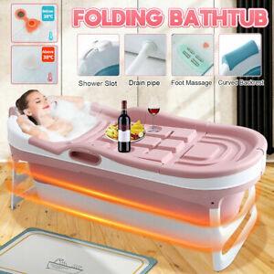 1,48M Groß Faltbare Badewanne freistehend Sauna Bad Faß Erwachsenen Kinder DHL