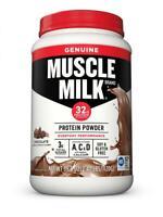 Muscle Milk Genuine Protein Powder, Chocolate, 32g 2.47 Pound, Chocolate