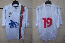 Maillot U.S CRETEIL LUSITANOS porté n°19 NIKE match worn shirt camiseta maglia L