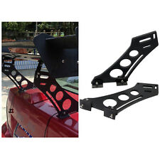 Pair 10inch Lightweight Adjustable Rear Wings Racing Tail Bracket Spoiler Tripod