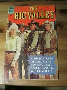 Big Valley # 1 June 1966 - Dell Comics Barbara Stanwyck, Lee Majors, The    ZCO1
