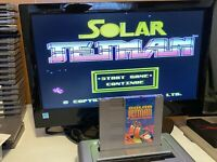 🔥100% WORKING NINTENDO NES RARE FUN Game Cartridge + Manual - SOLAR JETMAN 🔥