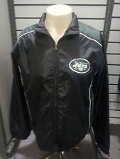NEW YORK JETS Windbreaker Full Zip Green/Black XX-Large Adult New 2XL G-lll NFL
