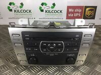 2009 MAZDA 6 RADIO HEAD UNIT CD  MP3 PLAYER GS1D669R0A *FAST SHIPPING