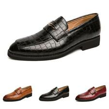 Mens Dress Formal Faux Leather Business Shoes Pointy Toe Work Office Oxfords L