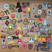 50pcs/lot Embroidered Patch Motif Applique random styles Clothing Material DIY H