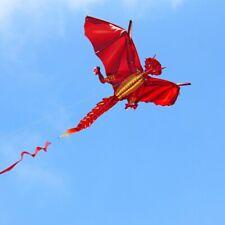 Einleiner Drachen  Feuer Dragon Rot   R 2 Fly   NEU