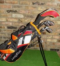 """Tommy Armour Junior Hot Scot Golf Clubs + Stand bag LH 54"""" - 60"""" Tall"""