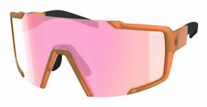 SCOTT SHIELD Sunglasses - Performance Cylindrical Shield Lens + Protective Case