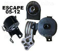 9M1103 4pc Motor Mounts fit SUV 2.3L 2.5L 3.0L 2005 - 2012 Ford Escape Mariner