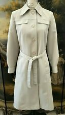 Forecaster of Boston Trench Rain Coat Size Small 5/6 Vintage ~ Nice!