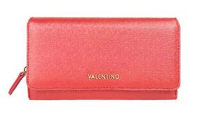 VALENTINO MARILYN Clutch Organizer Rosso, Damen-Geldbörse Portemonnaie Wallet