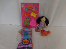 Groovy Girls Doll + Sleeping Bag + New Clothes lot