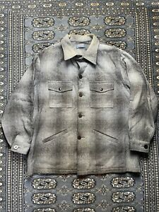 Vtg Pendleton Button Up Jacket Size XL Made In USA