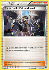 Pokemon Cards Team Rocket's Handiwork Trainer Fates Collide Uncommon 112/124