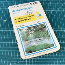 1980 Routemaster 5 Northern England Ordnance Survey Map