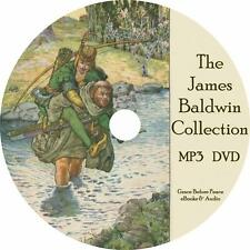 James Baldwin Childrens Audiobook Collection in English on 1 MP3 CD Free Ship