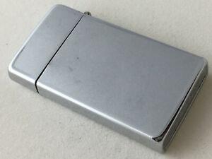 Vintage Silver Tone Scripto Butane Cigarette Lighter Made in USA
