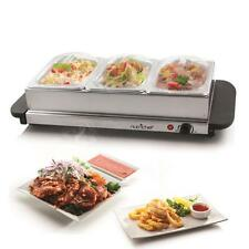 NutriChef PKBFWM33 Food Warming Tray / Buffet Server / Hot Plate Warmer