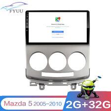 "2-Din 9"" ANDROID 9.1 Navigation 2+32G DAB Car FM Radio For Old Mazda 5 2005-2010"