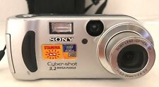 Sony Cyber-Shot Camera 3.2 Mega Pixels 3X Optical Zoom DSC-P71 With Case Working