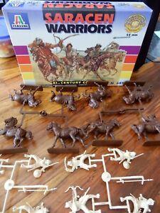 Italeri Saracen Warriors, no. 6585, BNIB, good condition, 54mm, 1/32 scale.