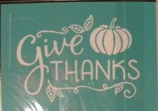 chalk couture transfer give thanks pumpkin