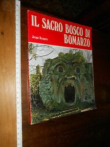 LIBRO:  IL SACRO BOSCO DI BOMARZO - JACOPO RECUPERO - LIBRO 1977 BONECHI FIRENZE