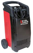 Cargador arrancador de baterias 12 y 24v alta potencia  Metalworks Nova 400S