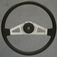 New 18 Inch VIP27 Chrome and Leather Steering Wheel for, Western Star and Marmon