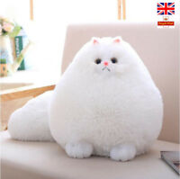 Persian Cat  Plush Stuffed Fluffy CatsToys Pembroke Pillow Animal Pet Xmas Gift