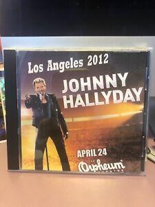 johnny hallyday Concert LOS ANGELES 2012 Audio Et Vidéo
