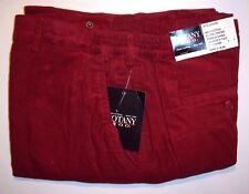 Big Men's Red Botany 500® Tri-Waist™ Corduroy Pants - Size: 42 XS - Inseam: 26