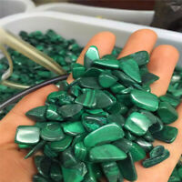 500g Bulk Tumbled Natural Malachite Stones Gemstones Reiki Healing Crystal