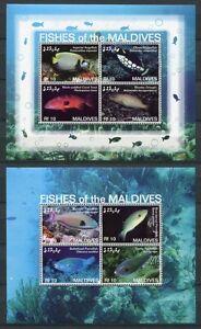 Malediven Maldives 2007 Fische Fishes Poissons Pesci 4551-4562 Block 602-604