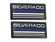 3x OEM White Z71 Emblems 4x4 for GM Chevrolet Silverado Sierra Tahoe h FU
