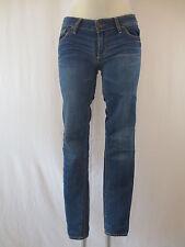 Abercrombie & Fitch Damen Jeans Hose W25 L29 Blau Skinny Röhre Stonewashed TOP