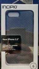 Incipio Refugio Fino Funda de la Protección para Apple Iphone 7 Plus & 8 - Negro