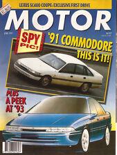 Modern Jun 91 VP Commodore SC400 RX-7 Alfa 164 QV TX3 Turbo 4wd MR2 33 Permanent