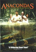 ANACONDAS Hunt For Blood Orchid  SEALED  DVD NTSC REG 1