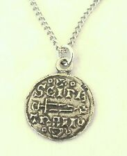 Viking Moneda Colgante (Collar) en bien inglés Peltre, Regalo En Caja