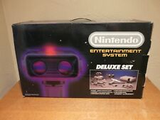 Nintendo NES Deluxe Set ROB Original Box Only 1985 Very Clean for its Age!**